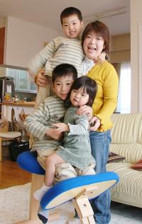 「姿勢がよくて元気な子、ものをたいせつにする子に育って欲しいと願っています。」